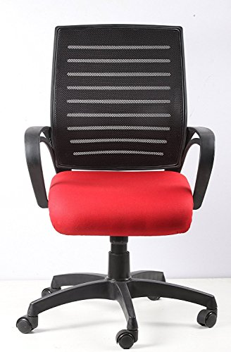 Alfa Chairs Vizolt Gama Chair for Official Use (Red)
