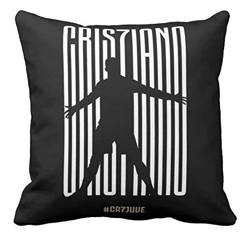 Pillow pillow Cuscino Personalizzato 40X40 Meme Tributo Cristiano Ronaldo Juventus ACQUISTO CR7 Juve...
