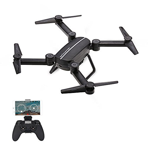 Goolsky JIE-STAR X8TW Wifi FPV Fotocamera 0.3MP 2.4G 6-Axis Gyro Selfie Drone Barometro Altezza Hold...
