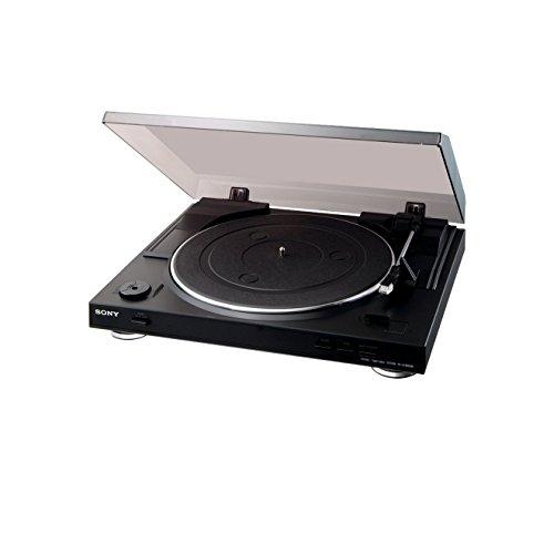 Sony PS-LX300USB Giradischi USB, Servomotore Controllato DC, S-Shape, MP3, 50 dB, 230 V
