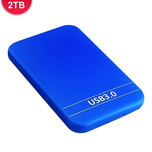 Brownrolly Hard Disk Esterno, USB 3.0 ad Alta velocità colta Esterno Portatile HDD Hard Disk da...