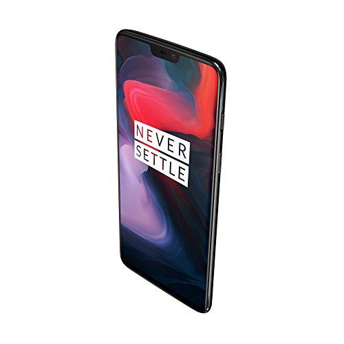 OnePlus 6 Smartphone débloqué 4G (Ecran : 6,28 pouces - 8 Go RAM - 128 Go stockage - Double SIM - Android) Mirror Black - Ecouteurs non-incl... 24