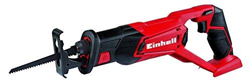 Einhell TE-AP 18 Li -Sierra de sable inalámbrica, sistema de gestión de la batería, 18 V, carcasa con soportes de goma (ref. 4326300)