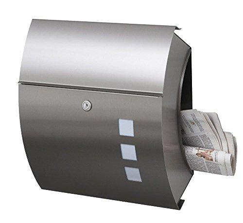 Frabox Edelstahl Briefkasten SANTA FE EXKLUSIV