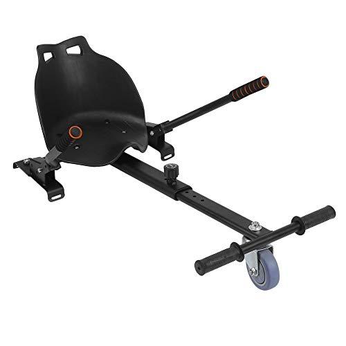 ForceSthrength HoverKart Regolabile Hover Kart a Tre Ruote per Hoverboard Nero Swegway