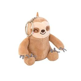 Mr. Wonderful WOA09625SM Portachiavi con Peluche Bradipo-Slow Collection