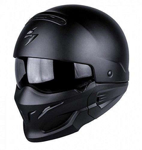 SCORPION Casque Motocorpion EXO COMBAT, Noir, Taille M