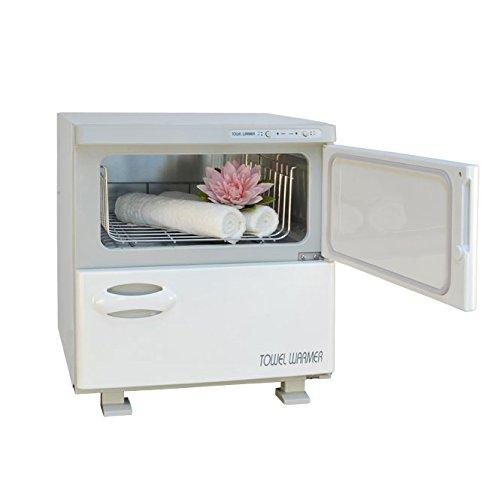Kompressenwärmer / Handtuchwärmer (32 l) mit zwei Fächern für die Massage Praxis, Deluxe Hot Towel 360W