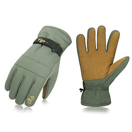Vgo, circa -40℃, 3M Thinsulate G80, guanti da lavoro invernali, guanti da sci, sciare, snow board,...