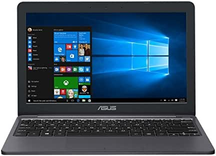 Asus VivoBook E12 E203MA (90NB0J02-M04220) 29,5 cm (11,6 Zoll HD) Notebook (Intel Celeron N4000, 4GB RAM, 64GB EMMC, Intel UHD-Grafik 600, Office 365, Windows 10) star grey