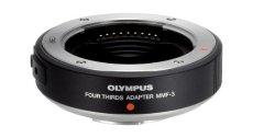 Olympus MMF-3 - Adaptador para Objetivos de de Cuatro tercios (cámaras Pen y OM-D), Negro