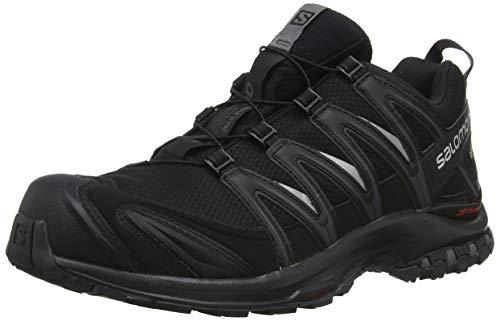 Salomon Herren XA Pro 3D GTX, Trailrunning-Schuhe, Wasserdicht, Schwarz (Black/Black/Magnet), Größe: 44