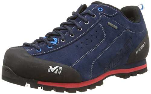 Millet Friction GTX Zapatos de Escalada, Unisex Adulto, (Saphir/Rouge 000), 42 2/3 EU (8.5 UK)