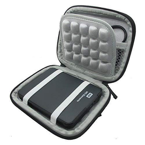 co2UK(TM) Nero EVA antiurto Pad viaggio di trasporto della pelle Bag Box Cover protettiva Caso Per...