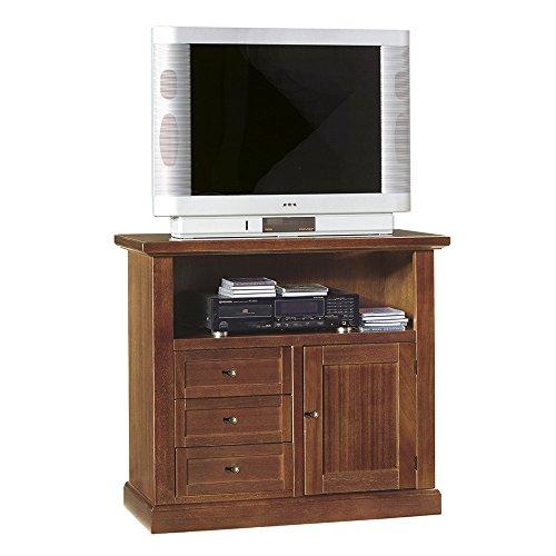 Mobile TV Porta TV Tinta Noce 84 X 40 X 80 per Interno Sala da Pranzo Salotto Cucina Ufficio...