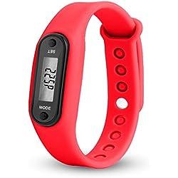 ZODOF Pulsera Actividad, Pulsómetro Pulsera Deportiva y Monitor de Ritmo Cardíaco Monitor de Actividad Impermeable Reloj Fitness Podómetro para Mujer Hombre