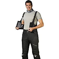 Racer Adventure Plus Peto para Pantalones de Motorista, Negro, 6XL,W131/L34, 64 UK
