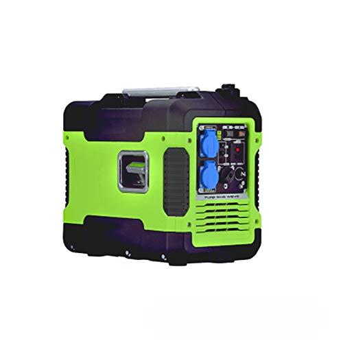 QWERTOUY Gasolina generador 2kW pequeño generador / 220V Miniatura Ultra silencioso al Aire Libre pequeño Digital de inversor