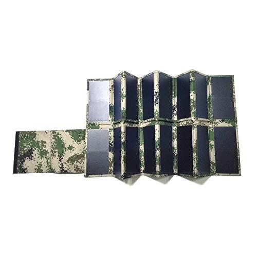 LLP LM Paneles solares100W Portátil Energía Solar Paneles solares Cargador Silicio monocristalino Eficiente Fotovoltaica Generación de energía Energía Solar Bolsa Plegable por mag.AL