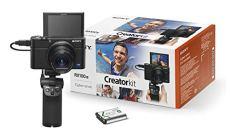 Sony DSC-RX100M3G - Cámara compacta DE 20.1 MP (Sensor CMOS 1.0, Zoom 24-70 mm, F1.8-2.8) Color Negro - Kit con Grip VCT-SGR1