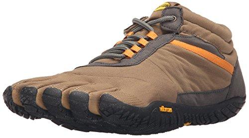Vibram FiveFingers 15M5301 TREK Ascent Insulated, Outdoor Fitnessschuhe Herren, Mehrfarbig (Khaki/Orange), 43 EU
