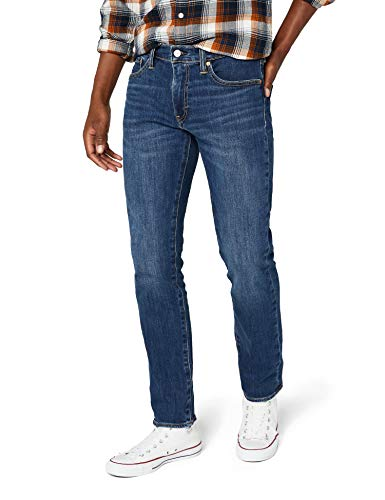 Levi's 511 Slim Fit Jeans, Blu Crocodile Adapt, 38W / 34L Uomo