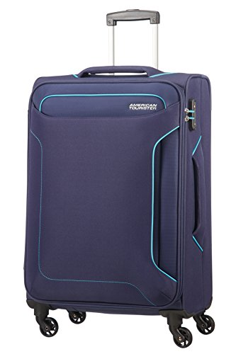 American Tourister Holiday Heat Spinner 67/24, 66 L - 3.2 KG Bagaglio a mano, 67 cm, liters, Blu...