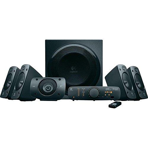 Logitech Speaker System Z906 Système de haut-parleurs 5.1 Télécommande...