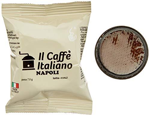 FRHOME - UNO System 100 Capsule compatibili - Il Caffè Italiano - Miscela Napoli Intensità 12