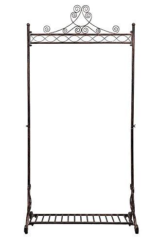 Stand appendiabiti in metallo di qualità - Elegante e solido - Design unico - Deposito Stile...