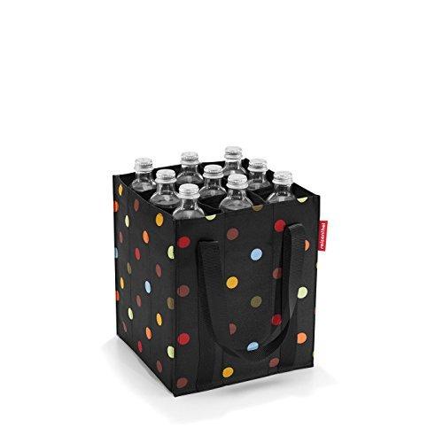 reisenthel bottlebag Flaschentasche 9 Fächer - 24 x 28 x 24 cm dots