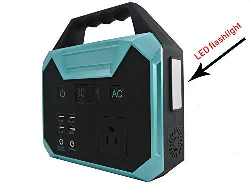 WANGTAO Générateur Portable Convertisseur De Puissance 67000Mah/250Wh Pack Batterie Rechargeable par Panneau Solaire/Prise Murale/Voiture De... 26