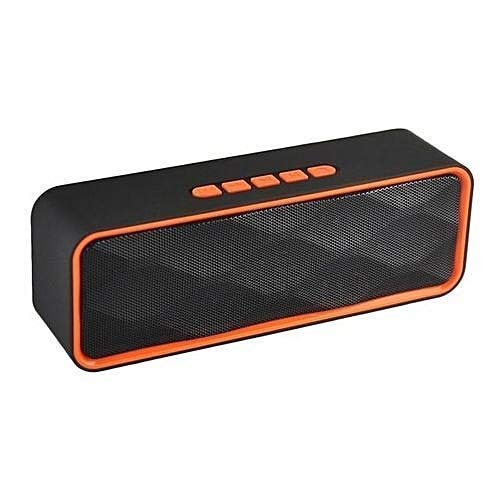 Spirili SC-211 Portable Smart Bluetooth Speaker with Robust Bass/Powerfull Sound/Pendrive and Memory Card Slot Compatible with Androd, iOS & Windows (Random Color)