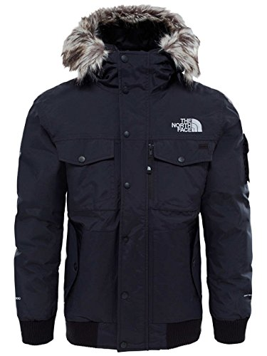 The North Face, M Gotham, Giacca, Uomo, Nero (Tnf Black/High Rise Grey), S