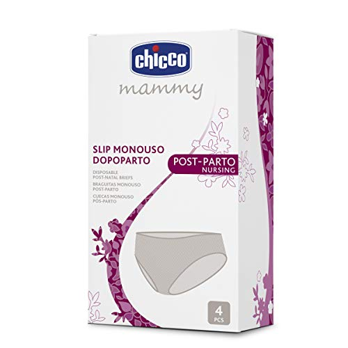 Chicco Post-Parto Nursing 00001137000300 Slip Monouso Dopoparto in Tessuto non Tessuto, Beige