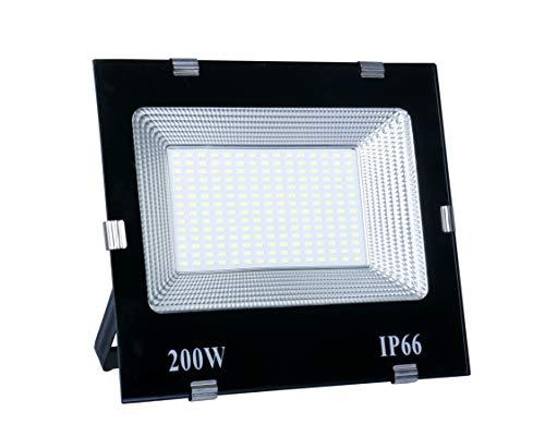 """Happy Selling"" 200 Watt Waterproof Dura Slim Flood Light for Outdoor Purposes(White,Pack of 1)"
