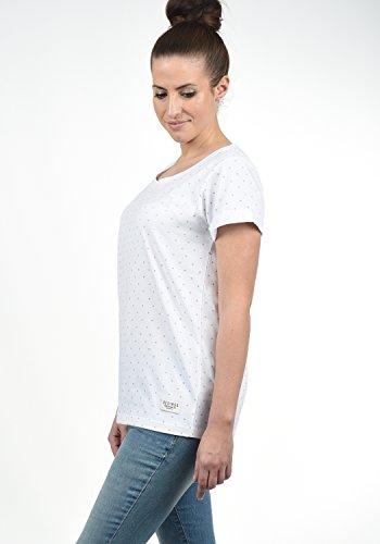 DESIRES Starlet Damen T-Shirt Kurzarm Shirt mit Print und Rundhalsausschnitt Aus 100% Baumwolle, Größe:XS, Farbe:Light Grey (2325) - 4