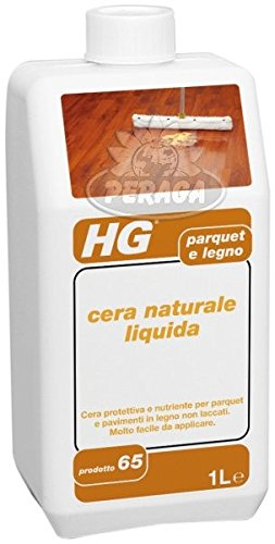 HG CERA NATURALE LIQUIDA PER PARQUET E LEGNO 1 L