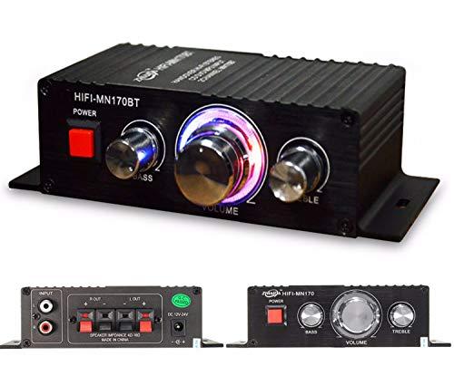 Blizim Mini Verstärker Bluetooth 2 Kanal 60W HiFi Audio Bass Subwoofer