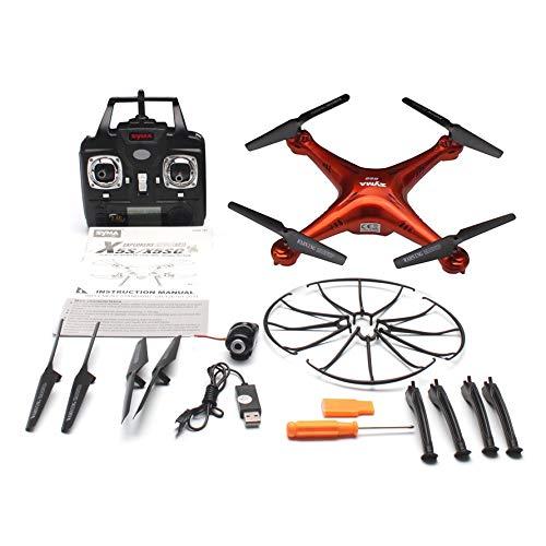 HoganeyVan Drone quadricottero RC SYMA X5SC 2.4G con modalità Senza Testa della videocamera HD 720P