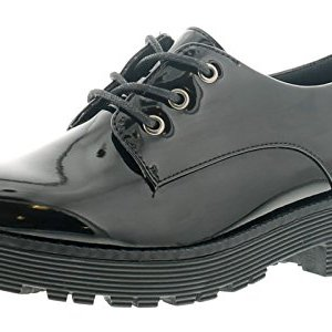 Miss Riot Allie Girls Synthetic Material School Shoes Black 41fB2nmK0UL