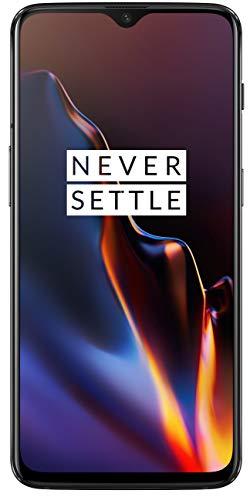 OnePlus 6T (Mirror Black, 6GB RAM, 128GB Storage)