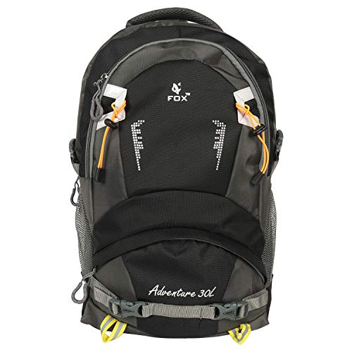Cocksure Teenager Polyester Light Weight 32 Ltrs Black School Bag Casual Backpack for Boys Girls