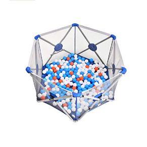 Infant Play Playpen, fabricado con materiales no tóxicos de alta calidad, Playpen Plegable, plegable, portátil…