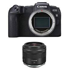 Canon EOS rp - cámara mirroless de 26.2 MP + Canon - Objetivo RF 35mm f/1,8 Macro IS STM Negro