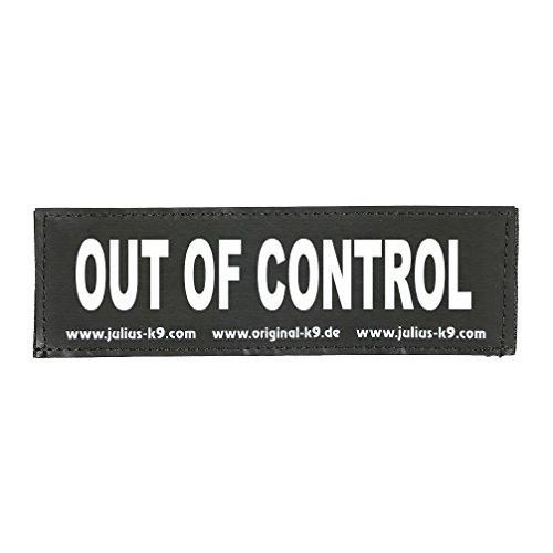 TRIXIE 2 Stickers Velcro Julius-K9 - S - Out of control - Pour chien