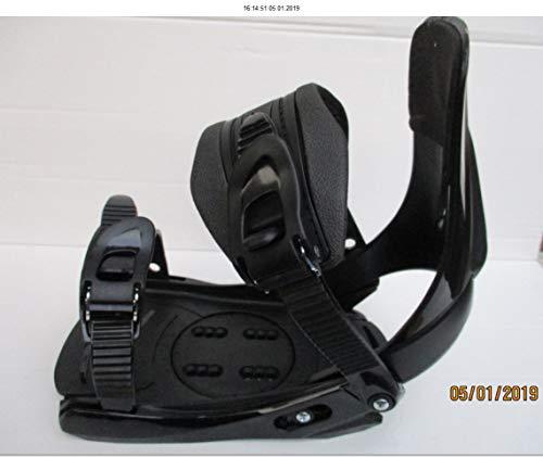 Unbekannt Snowboard Bindung Factory FB 11 schwarz für Schuhgrösse 38 bis 45
