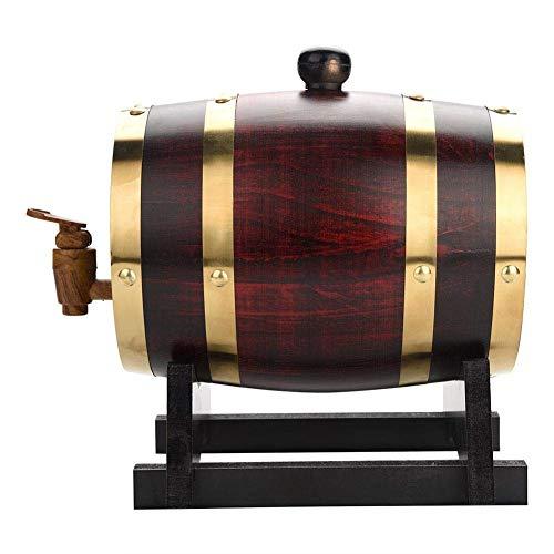 ZGQJT Whisky Barrel, Quercia Wine Barrel Wine Cabinet Wine Storage Bar Ristorante Bar Decorazione...