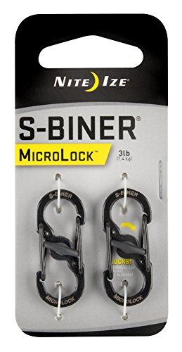Nite Ize S-Biner MicroLock - Organizador de llaves