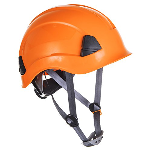 Portwest PS53 - PW Altura Resistencia del casco, color naranja